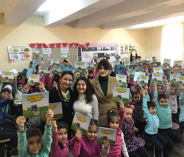 Eğirdir Mehmet Akif Ersoy İlkokulunda Geri Dönüşüm Etkinliği